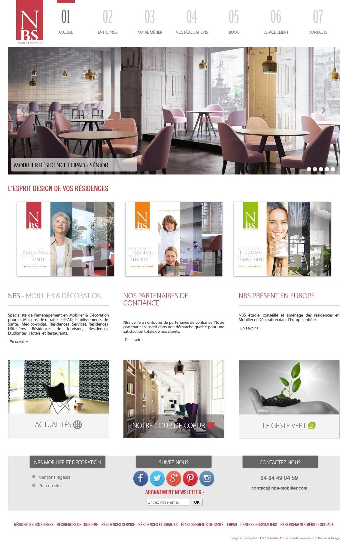 R f rences sites internet web marseille c3r - Mobilier maison de retraite ...
