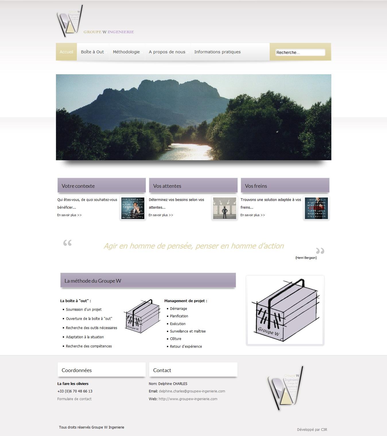 r f rences sites internet web marseille c3r. Black Bedroom Furniture Sets. Home Design Ideas